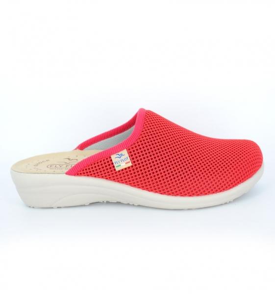 Papuci confortabili Fly Flot 030  Rosu 1