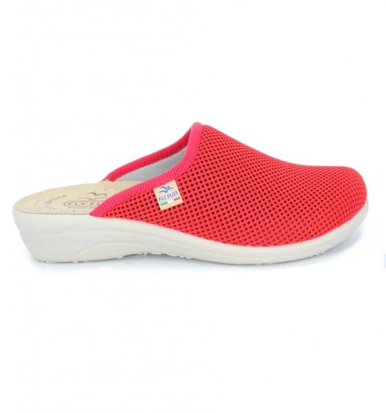 Papuci confortabili Fly Flot 030  Rosu 0