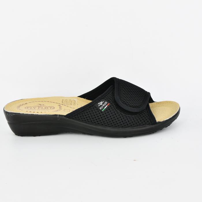 Papuci confortabili Fly Flot 070 negru 0
