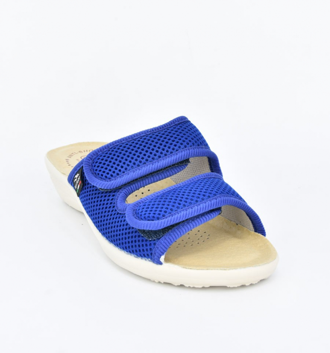 Papuci confortabili Fly Flot 120 albastru 1