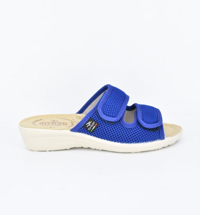 Papuci confortabili Fly Flot 120 albastru 0