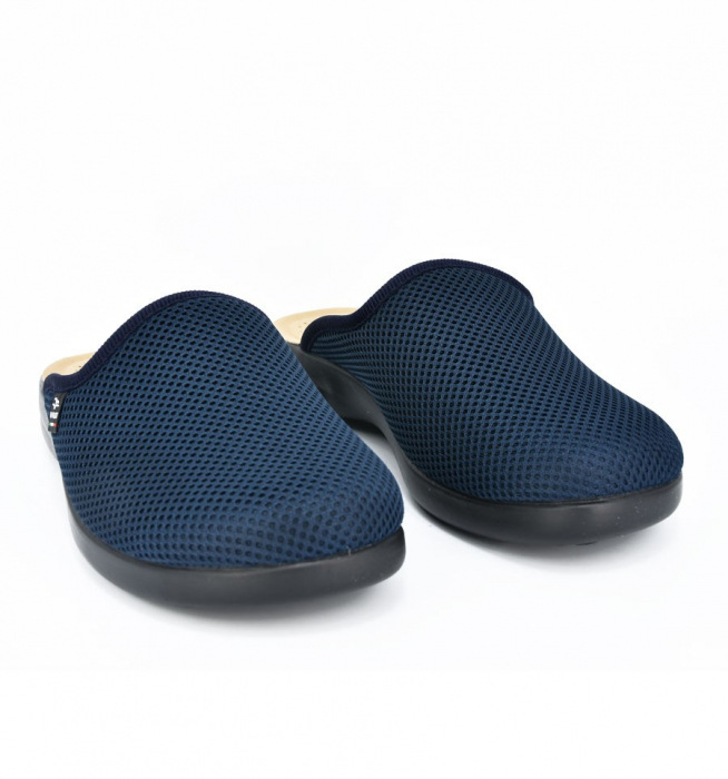 Papuci confortabili Fly Flot 125 navy 3