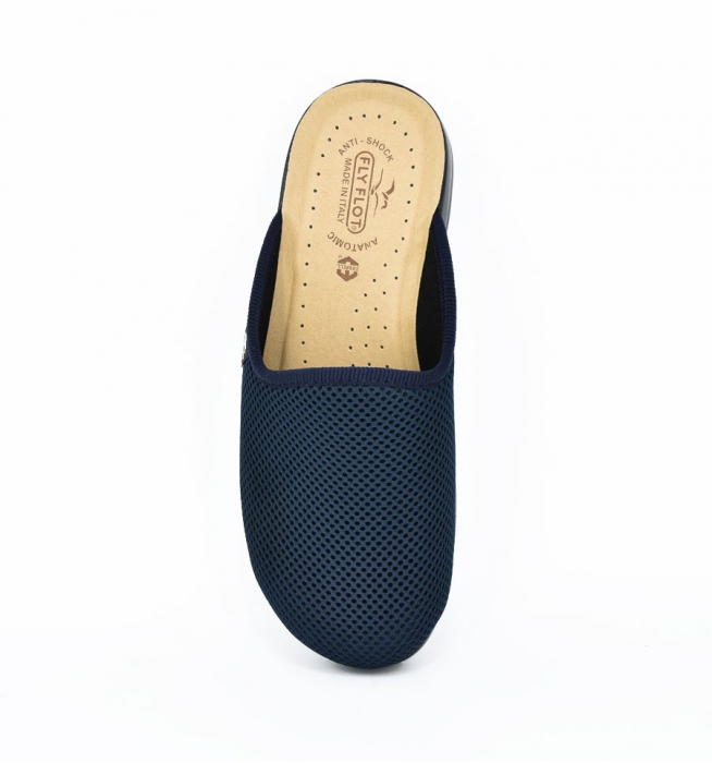 Papuci confortabili Fly Flot 125 navy 2