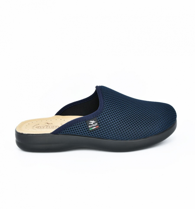 Papuci confortabili Fly Flot 125 navy 1