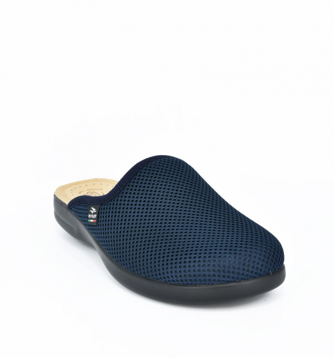 Papuci confortabili Fly Flot 125 navy 4
