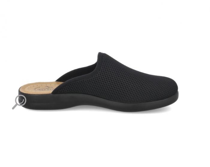 Papuci confortabili Fly Flot 125 negru [3]