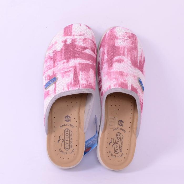 Papuci confortabili Fly Flot 154 roz [2]