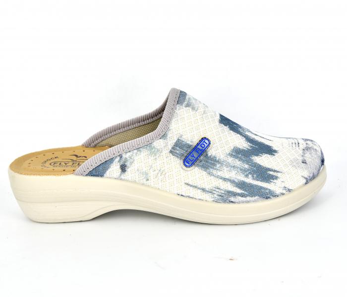 Papuci confortabili Fly Flot 154 albastru 0