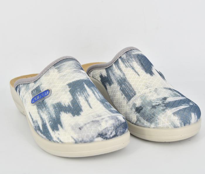 Papuci confortabili Fly Flot 154 albastru 2