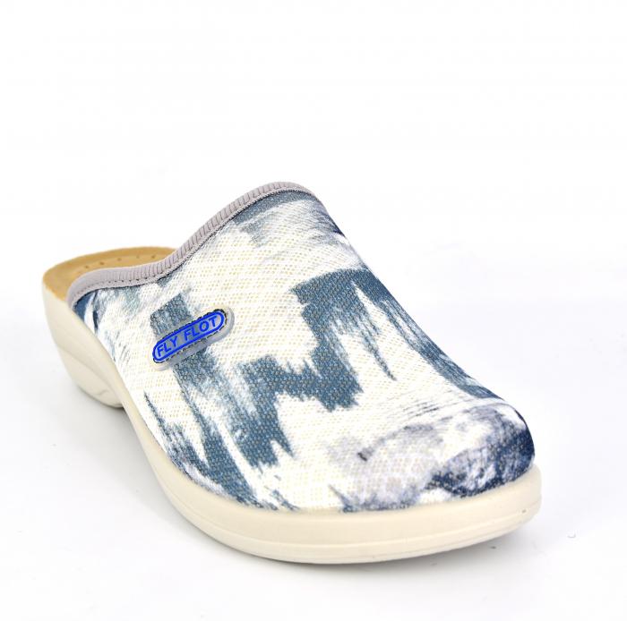 Papuci confortabili Fly Flot 154 albastru 1