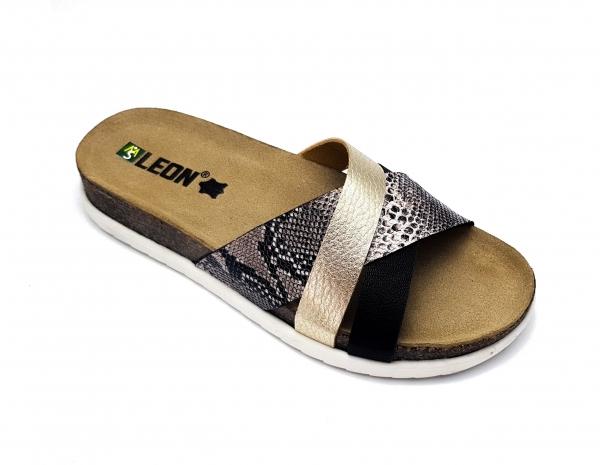 Papuci cu talpa ortopedica 1201 Negru 0