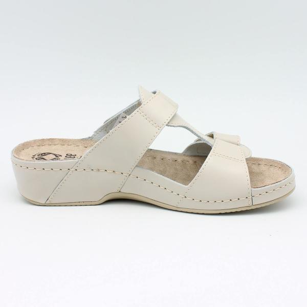 Papuci cu talpa ortopedica 242 Beige 1