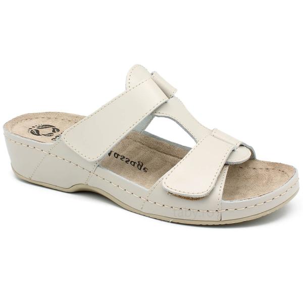 Papuci cu talpa ortopedica 242 Beige 0