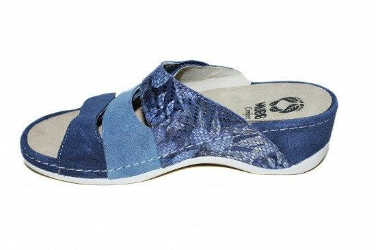 Papuci cu talpa ortopedica 701-18 Albastru 4