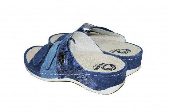 Papuci cu talpa ortopedica 701-18 Albastru 3