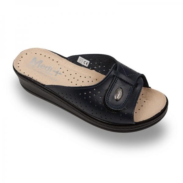 Papuci dama Medi+ 312SB Albastru 0