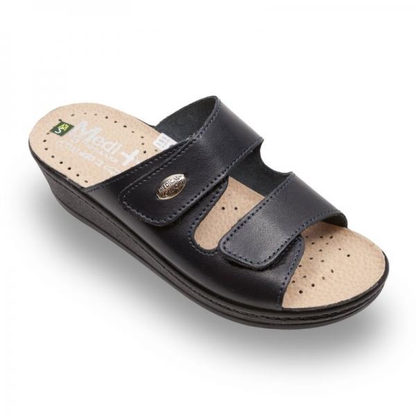 Papuci dama Medi+ 410SB Albastru 0
