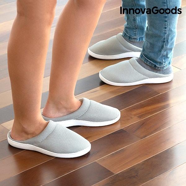 Papuci de Casă cu Gel Confort Bamboo 2