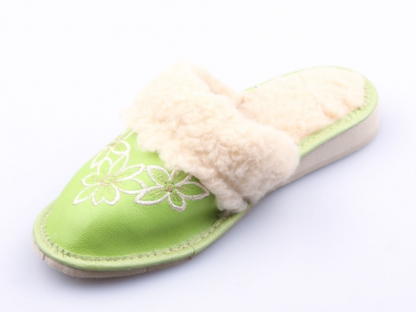 Papuci de casa 103 Verde 1
