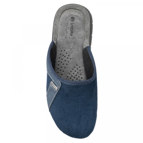 Papuci de casa barbatesti BG35 Blue 2