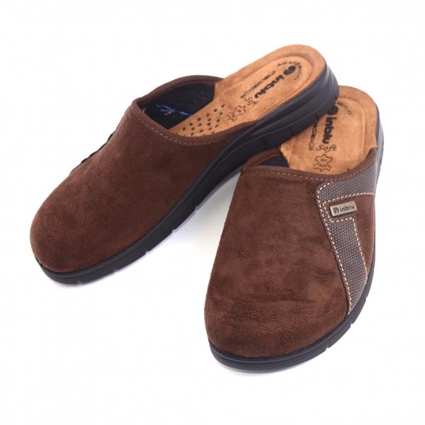 Papuci de casa barbatesti BG35 Maro Inchis [1]