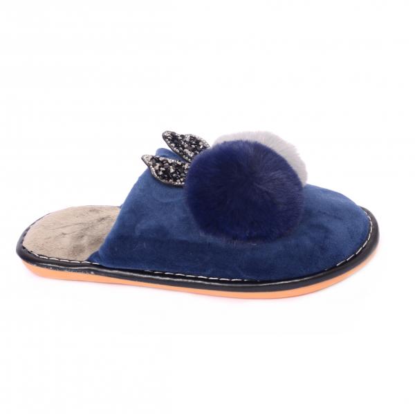 Papuci de casa Bleumarin [0]
