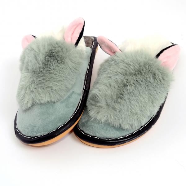 Papuci de casa Verde 1