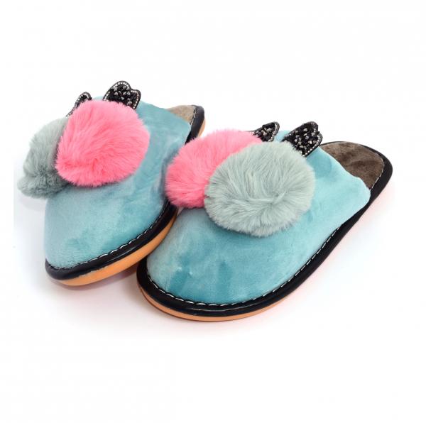 Papuci de casa Turcoaz [1]