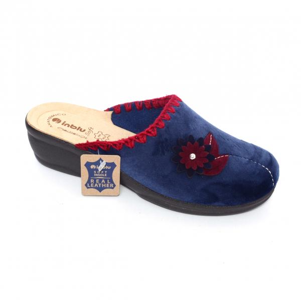 Papuci de casa Dama BJ110 Blue 0