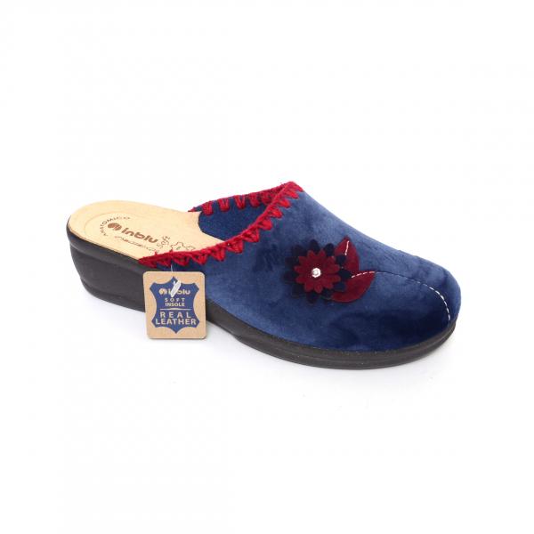 Papuci de casa Dama BJ110 Blue 1