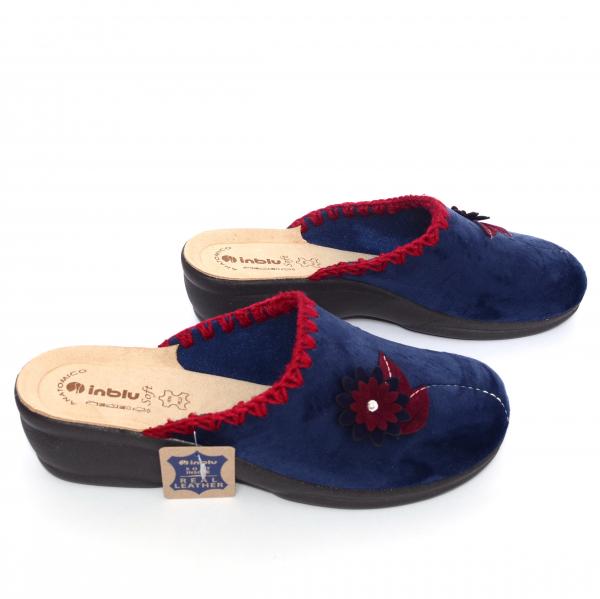 Papuci de casa Dama BJ110 Blue 2