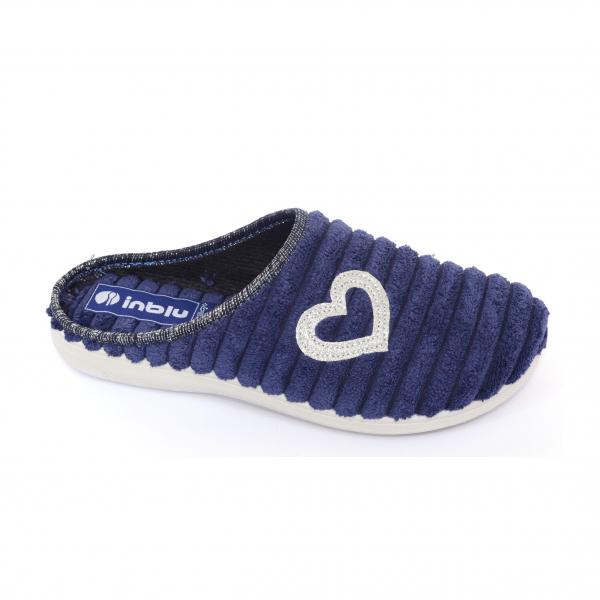 Papuci de casa Dama EC67 Blue 0