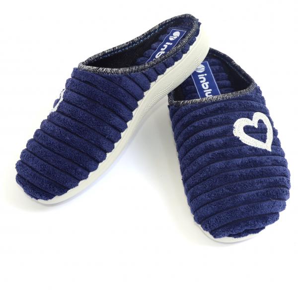 Papuci de casa Dama EC67 Blue 1