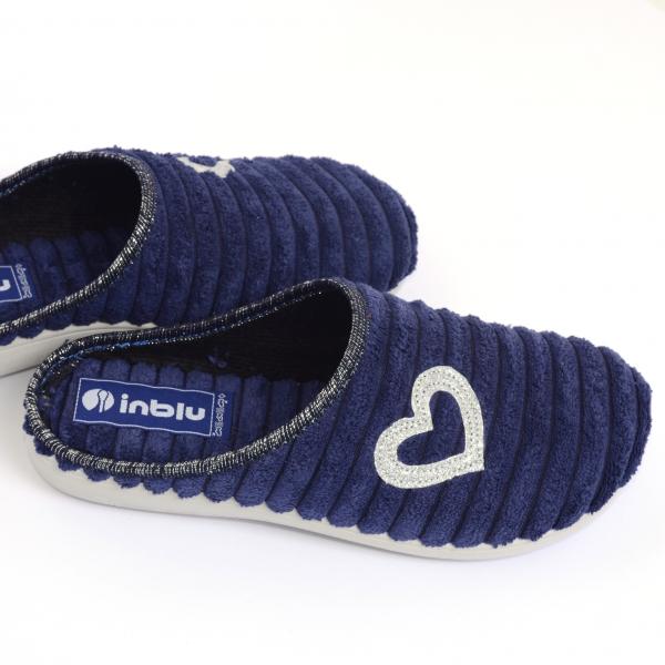 Papuci de casa Dama EC67 Blue 2