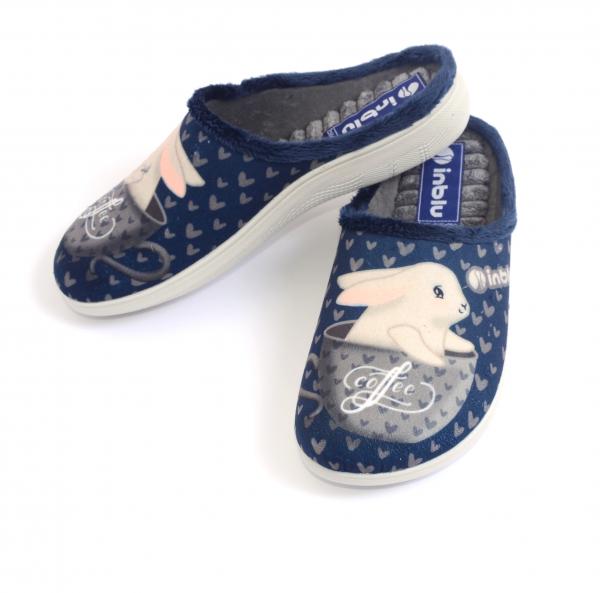 Papuci de casa Dama EC60 Blue [1]