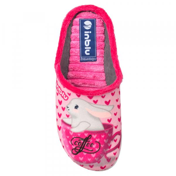 Papuci de casa Dama EC60 Rosa 2