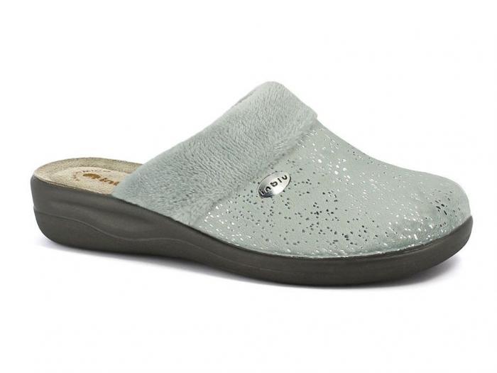 Papuci de casa Dama INBLU CF34 GRIGIO [0]