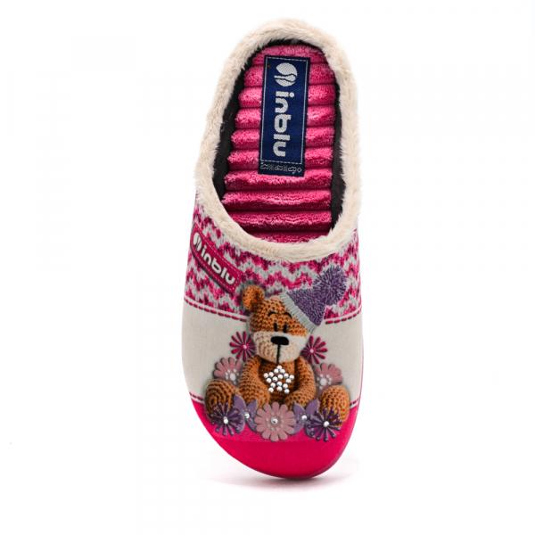 Papuci de casa Dama EC49 Rosa 1
