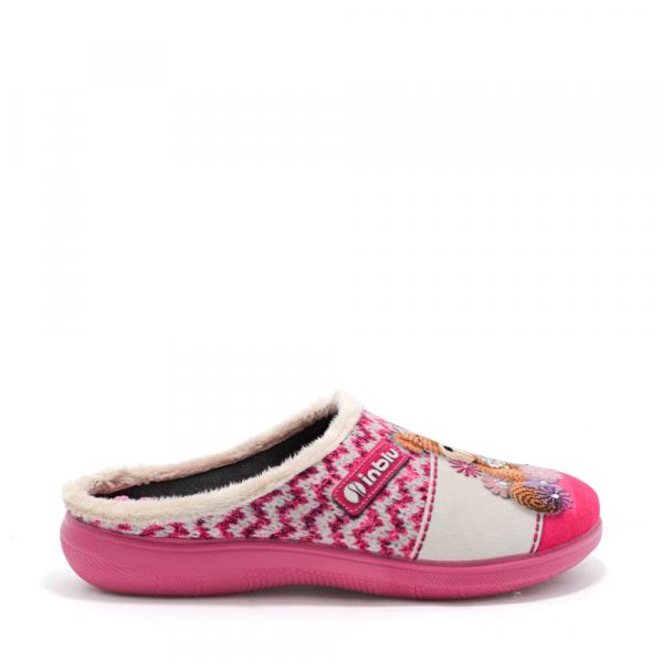 Papuci de casa Dama EC49 Rosa 2