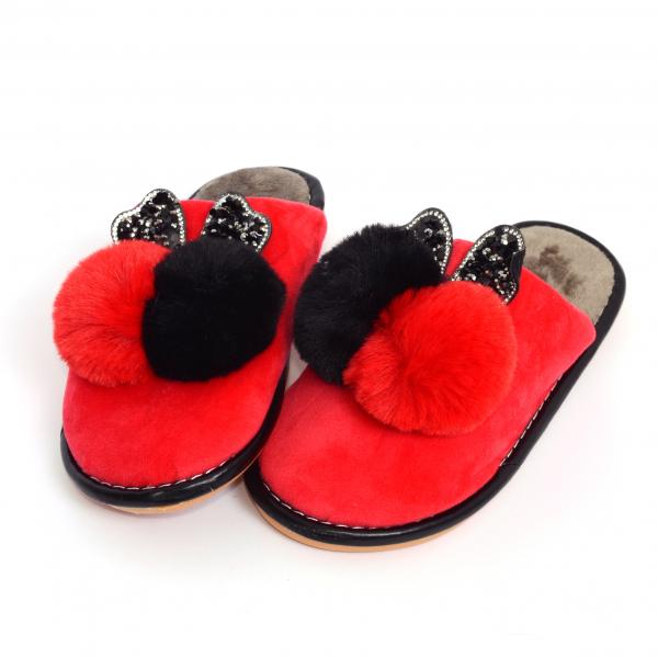 Papuci de casa Rosu [1]