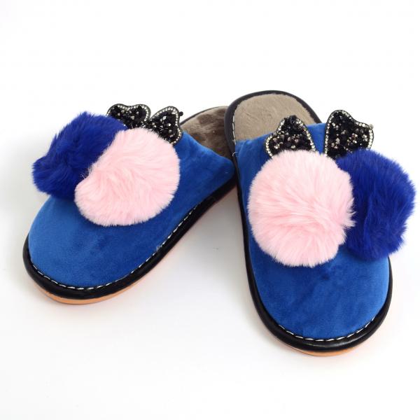 Papuci de casa Albastru 1