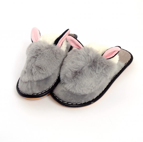 Papuci de casa Gri 1