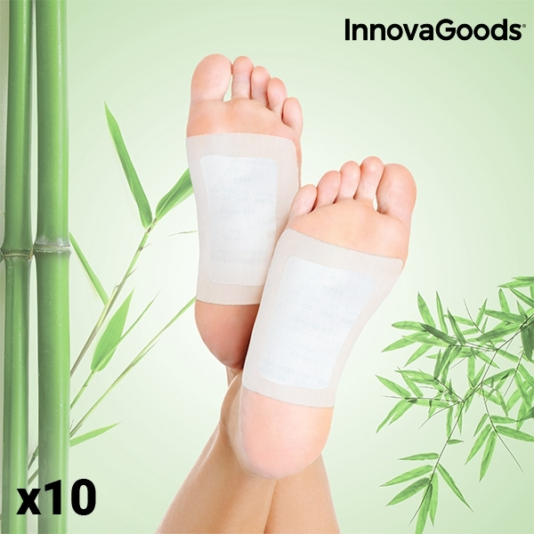 Plasturi detoxifianti pentru picioare (pachet de 10) 0