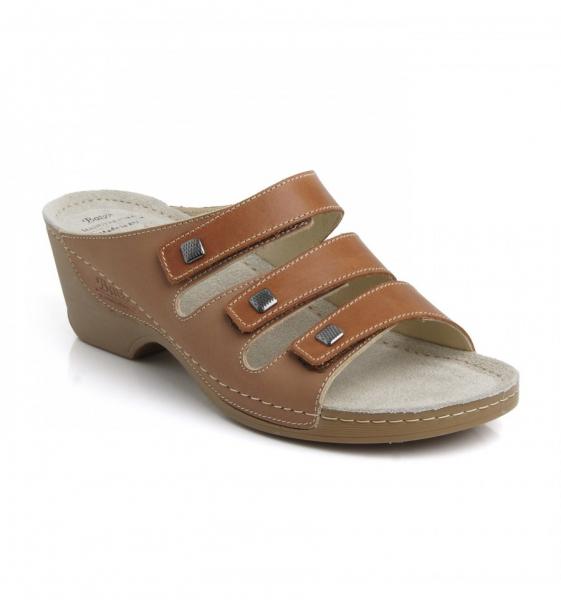 Papuci piele BATZ Manna 0
