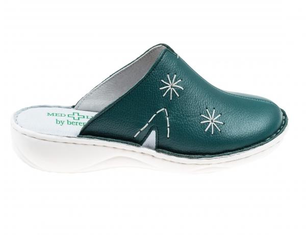 Saboti confort dama Medline 298 Smarald 0