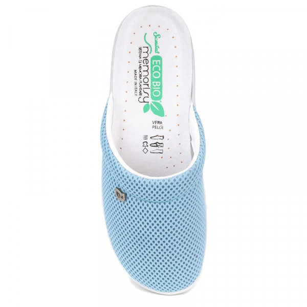 Papuci confortabili EcoBio 201149 Albastru 1