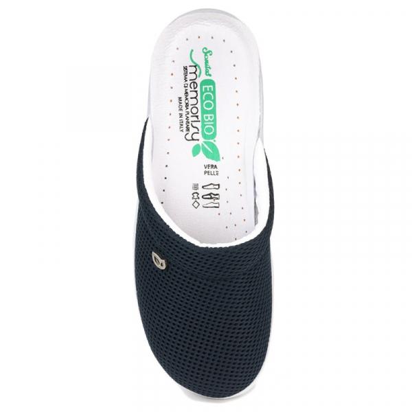 Papuci confortabili EcoBio 201149 Albastru inchis 1