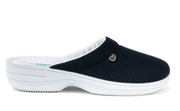 Papuci confortabili EcoBio 201149 Albastru inchis 2