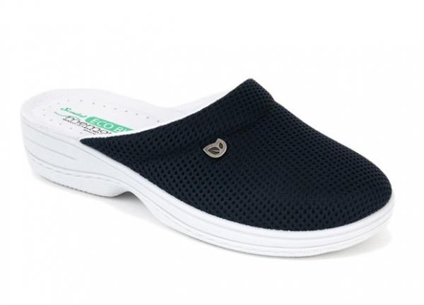 Papuci confortabili EcoBio 201149 Albastru inchis 0