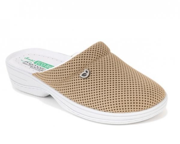 Papuci confortabili EcoBio 201149 Bej 0
